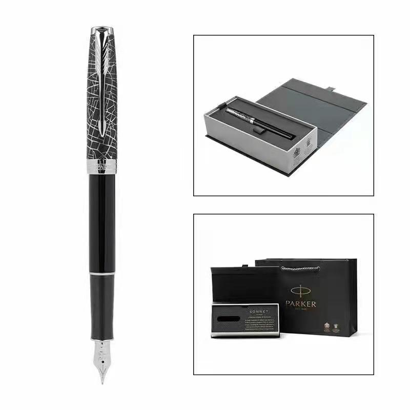 经典唯美黑色派克钢笔