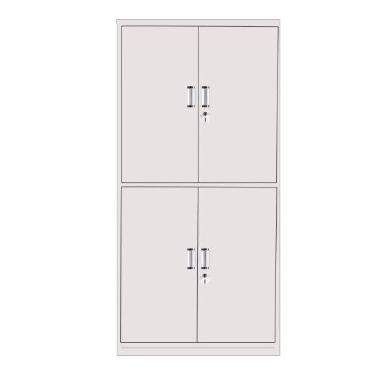 奈高通双节文件柜办公柜钢制铁皮柜资料柜档案柜储物柜普通款一个装